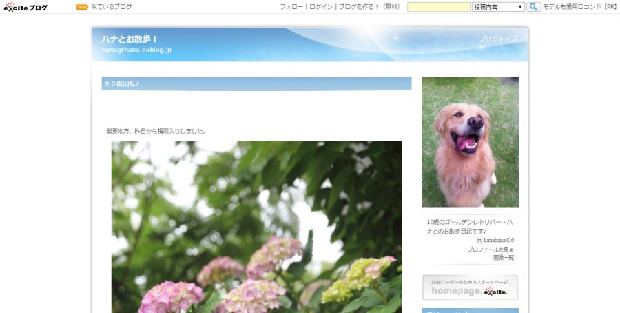 FireShot Capture 30 - ハナとお散歩! - http___hanagrhana.exblog.jp_