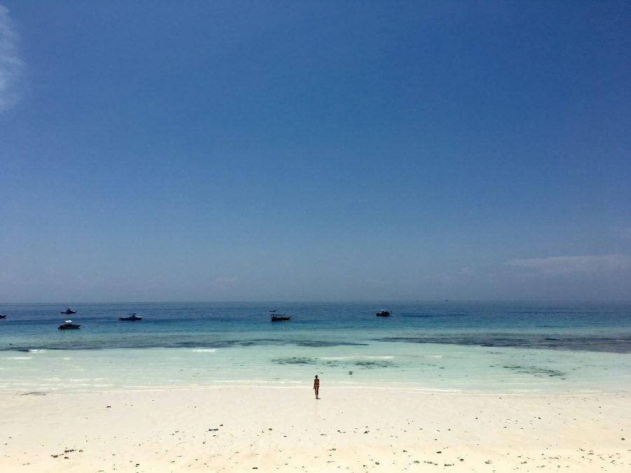 タンザニアのザンジバル島