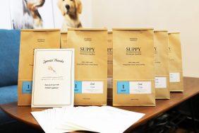 【SUPPY 新商品】専門科獣医師さんと一緒に、1年掛かりで完成したオリジナルの関節サプリメント。Makuake支援者さまに発送しました。