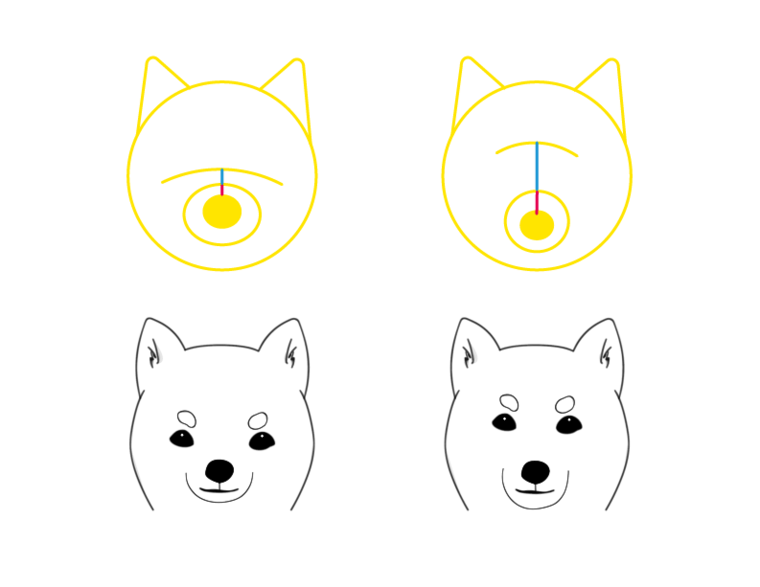 犬の描き方をプロが解説骨格を意識したデッサン手法から顔の特徴を